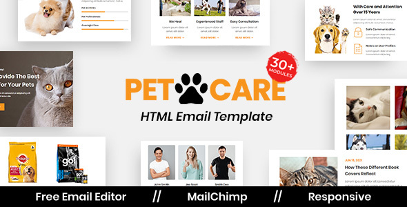 [Free Download] Petcare – Multipurpose Responsive Email Template (Nulled) [Latest Version]