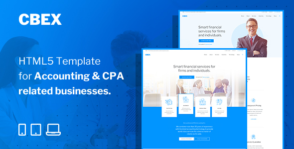 [Free Download] CBEX – Responsive CPA, Tax and Accounting HTML5 Template (Nulled) [Latest Version]