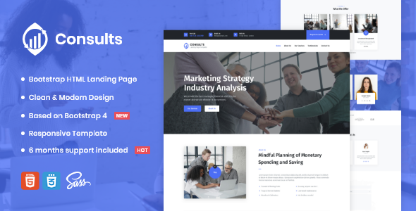[Free Download] Consults – Consulting and Finance HTML Landing Page Template (Nulled) [Latest Version]