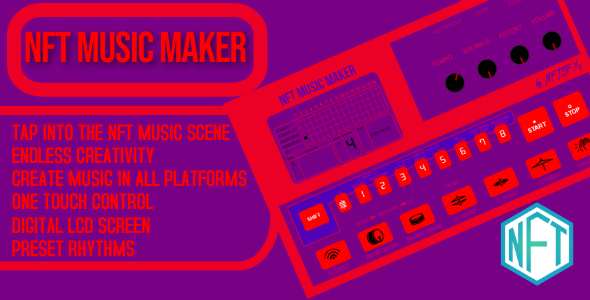 [Free Download] NFT Music Maker (Nulled) [Latest Version]