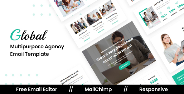[Free Download] Global Agency – Multipurpose Responsive Email Template (Nulled) [Latest Version]