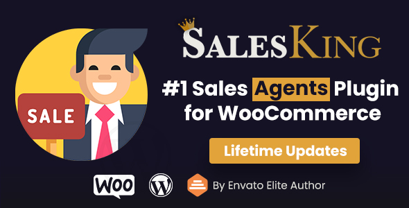 [Free Download] SalesKing – Ultimate Sales Team, Agents & Reps Plugin for WooCommerce (Nulled) [Latest Version]