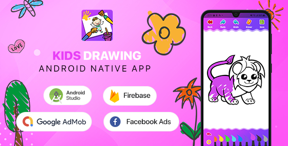 [Free Download] Kids Drawing – Android (Kotlin) (Nulled) [Latest Version]
