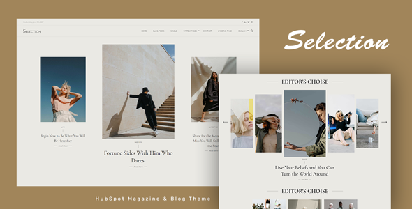 [Free Download] Selection – HubSpot Theme for Magazine and Blog (Nulled) [Latest Version]