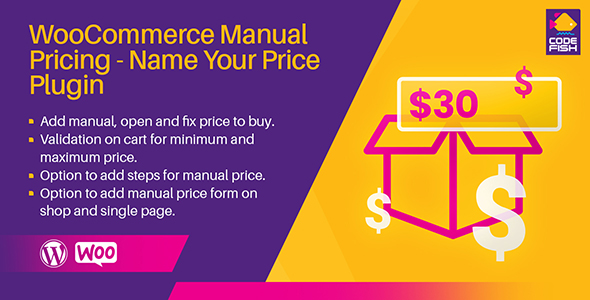 [Free Download] WooCommerce Manual Pricing – Name Your Price Plugin (Nulled) [Latest Version]