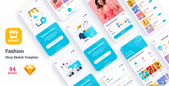 [Free Download] Emart – Fashion Shop Adobe Sketch Template (Nulled) [Latest Version]