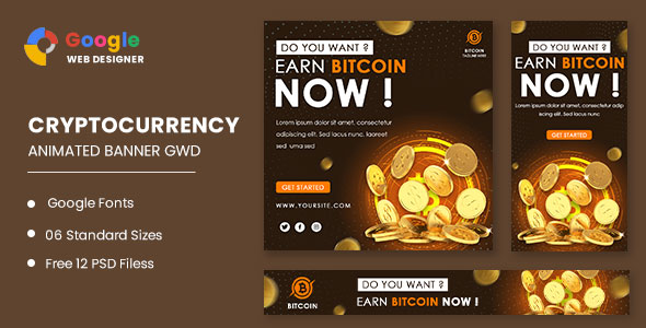 [Free Download] Bitcoin Ads Animated Banner Google Web Designer (Nulled) [Latest Version]