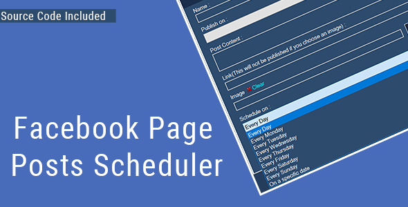 [Free Download] Facebook Page Posts Scheduler – (Source Code Inclu (Nulled) [Latest Version]