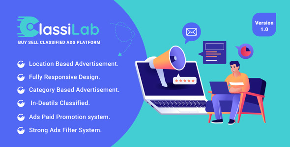 [Free Download] ClassiLab – Buy Sell Classified Ads Listing Platform (Nulled) [Latest Version]