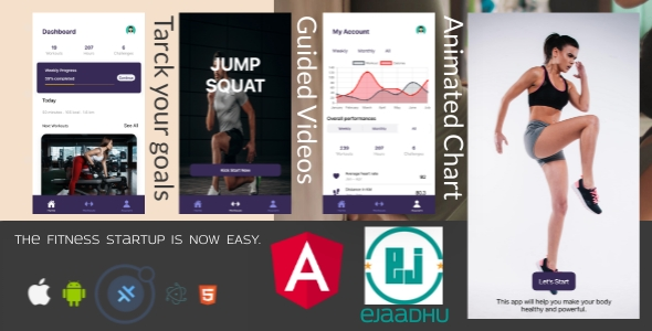 [Free Download] ejaadhuFit starter template with login, signup and onboarding page: IONIC, capacitor, cordova. (Nulled) [Latest Version]
