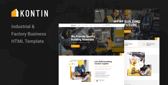 [Free Download] Kontin – Industrial & Factory Business HTML Template (Nulled) [Latest Version]