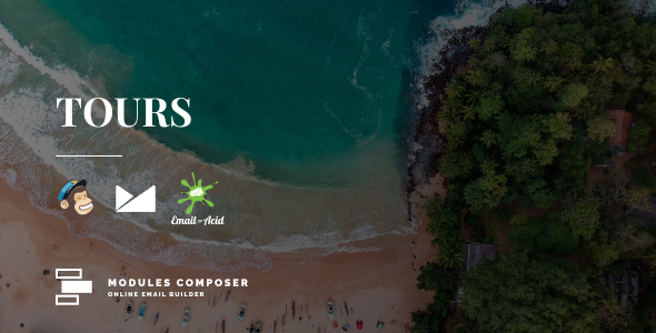 [Free Download] Tours – Responsive Email for Hotels, Booking & Traveling with Online Builder (Nulled) [Latest Version]