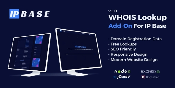 [Free Download] Whois Lookup Addon for IP Base (Nulled) [Latest Version]