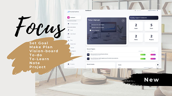 [Free Download] Focus – Laravel Productivity Management tool (Nulled) [Latest Version]
