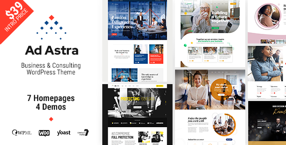 [Free Download] Ad Astra – Business & Consulting WordPress Theme (Nulled) [Latest Version]