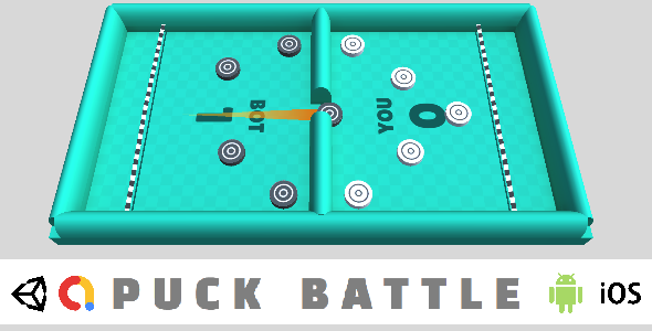 [Free Download] Puck Battle – Complete Unity Game For Android & iOS (Nulled) [Latest Version]