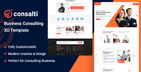 [Free Download] Consalti – Consultancy & Business XD Template (Nulled) [Latest Version]