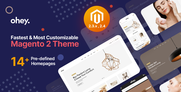[Free Download] Ohey – Multipurpose Sections Magento 2 Theme (Nulled) [Latest Version]