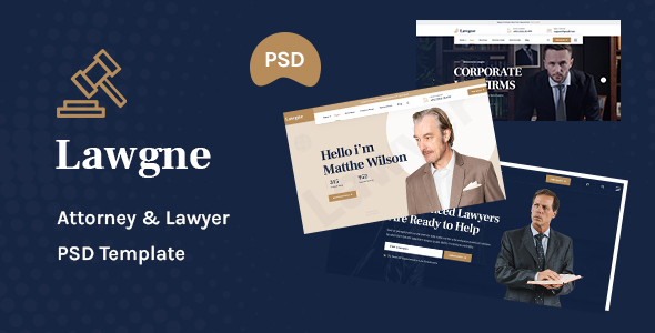 [Free Download] Lawgne – Attorney & Lawyers PSD Template (Nulled) [Latest Version]