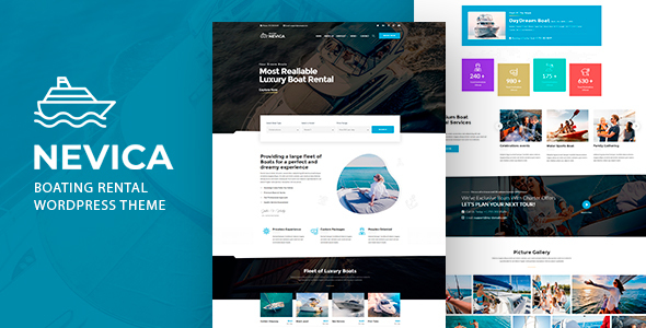 [Free Download] Nevica – Boats Rental Theme (Nulled) [Latest Version]