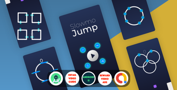 [Free Download] Slowmo Jump : (Android Studio+Admob+Reward Video+Remove Ads purchase+Leaderboards+Onesignal) (Nulled) [Latest Version]