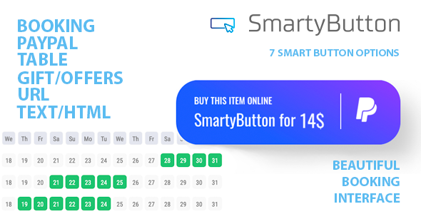 [Free Download] SmartyButton – Multifunctional button for WordPress (Nulled) [Latest Version]