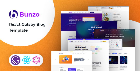 [Free Download] Bunzo – React Gatsby Blog Template (Nulled) [Latest Version]