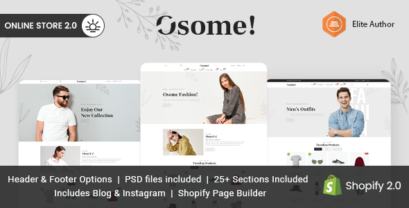[Free Download] Osome – Multipurpose Shopify Theme (Nulled) [Latest Version]