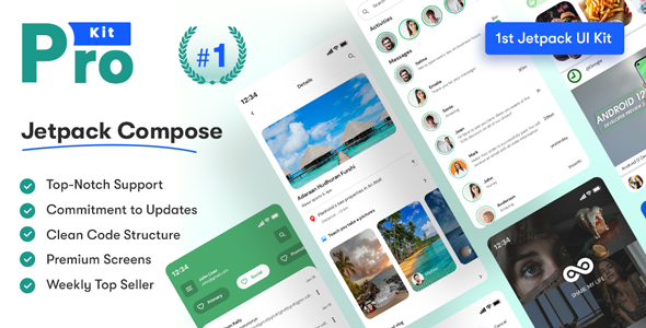 [Free Download] Prokit – Android Jetpack Compose UI Kit (Nulled) [Latest Version]