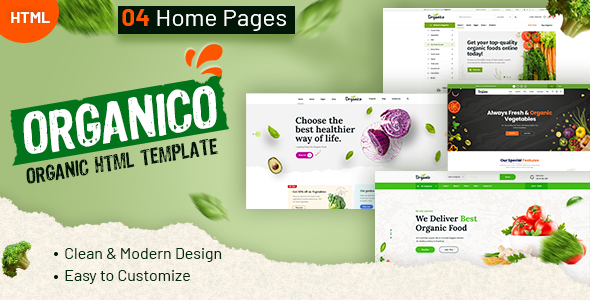 [Free Download] Organio – Organic Food Store Template (Nulled) [Latest Version]