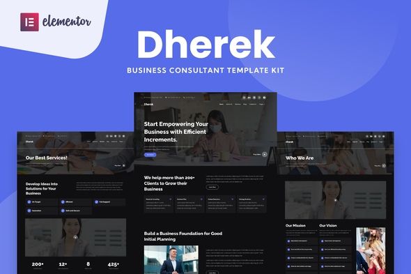 [Free Download] Dherek – Business Consultant Website Template (Nulled) [Latest Version]