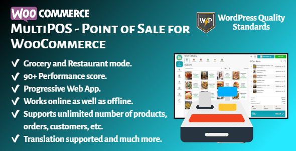 [Free Download] MultiPOS – Point of Sale (POS) for WooCommerce (Nulled) [Latest Version]