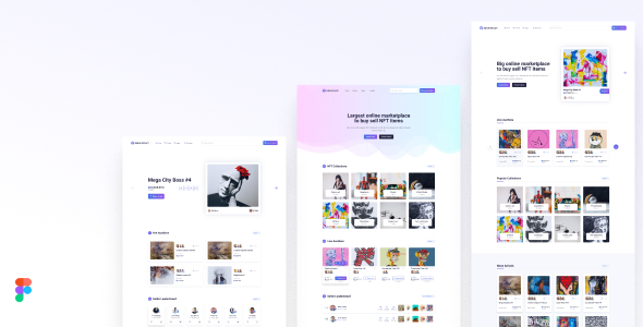 [Free Download] Tokenmart – NFT Marketplace Figma Template (Nulled) [Latest Version]