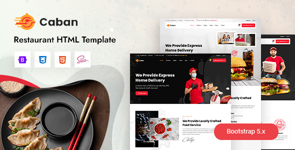 [Free Download] Caban – Restaurant & Cafe HTML Template (Nulled) [Latest Version]