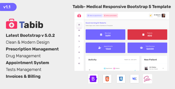 [Free Download] Tabib – Doctor Chamber Management System (Nulled) [Latest Version]