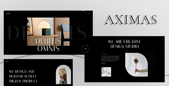 [Free Download] AXIMAS – Agency & Personal Portfolio HTML5 Template (Nulled) [Latest Version]
