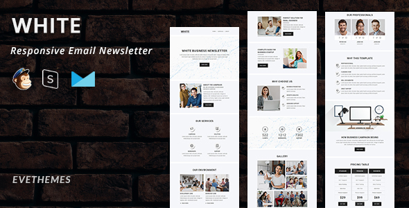 [Free Download] White – Responsive Email Newsletter (Nulled) [Latest Version]