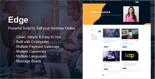 [Free Download] Edge – Sell your Services Online (Nulled) [Latest Version]