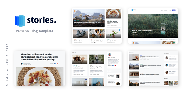 [Free Download] Stories – Personal Blog React NextJS Template (Nulled) [Latest Version]