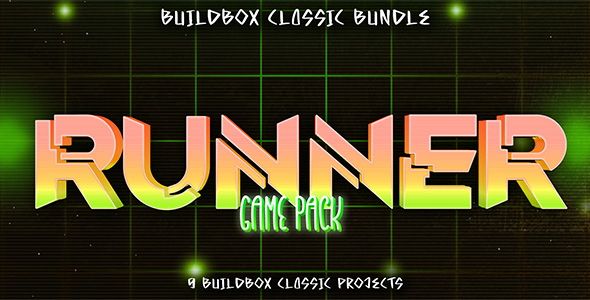 [Free Download] 9 Buildbox Runner Game Pack (Nulled) [Latest Version]