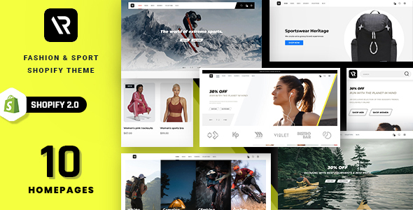 [Free Download] Random – Sport & Outdoor Clothing Shopify Theme (Nulled) [Latest Version]