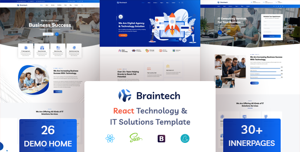 [Free Download] Braintech – React Technology & IT Solutions Template (Nulled) [Latest Version]
