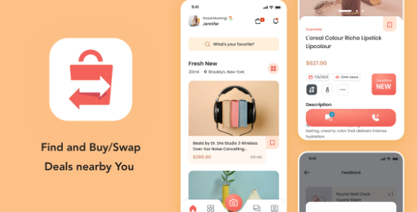 [Free Download] Kyda – Local Swap Deal UI Kit (Nulled) [Latest Version]