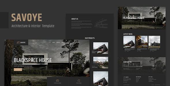 [Free Download] Savoye – Architecture & Interior Template (Nulled) [Latest Version]