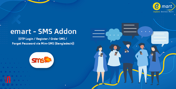 [Free Download] emart – SMS Addon (Nulled) [Latest Version]
