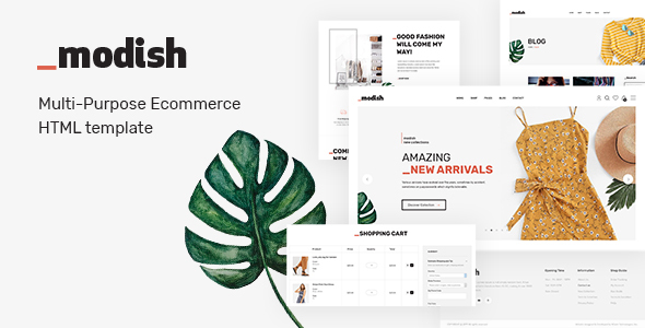 [Free Download] Modish – Modern & Multipurpose Fashion Store HTML Template (Nulled) [Latest Version]