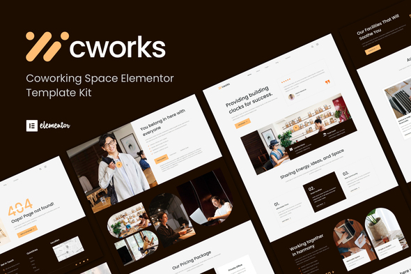 [Free Download] Cworks – Coworking Space Elementor Template Kit (Nulled) [Latest Version]