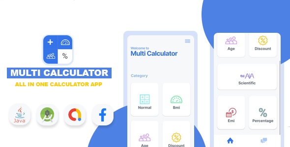 [Free Download] Multi Calculator – All in one calculator app (Nulled) [Latest Version]