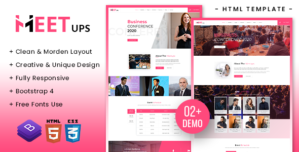 [Free Download] Meetups – Conference & Event Html Template (Nulled) [Latest Version]