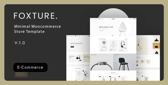 [Free Download] Foxture – Minimal Ecommerce XD Template (Nulled) [Latest Version]